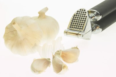 Garlic may provide many health benefits.