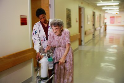 CNAs help care for the elderly and disabled.