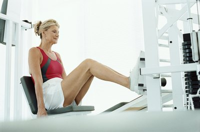 Leg presses are a viable alternative to squats for some exercisers.