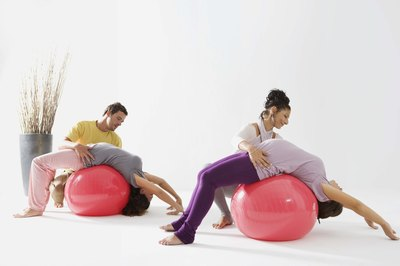 Exercise balls can help sacroiliac dysfunction.