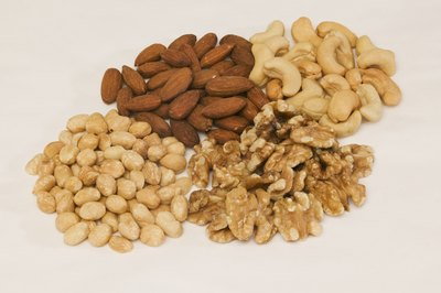 Walnuts and cashews both offer nutritional benefits.