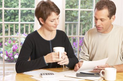 Many couples have both joint and invididual bank accounts.