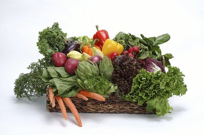 Fruits and vegetables are a good source of vitamin A.