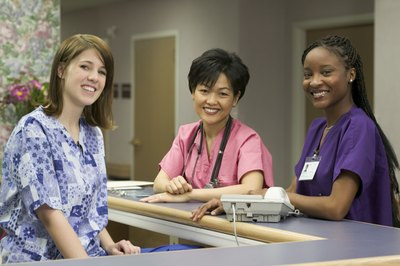 A newly graduated RN may have an associate, diploma or bachelor's degree in nursing.