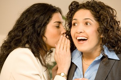 Gossip can be devastating in the workplace.