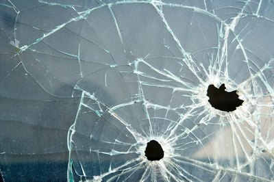 You're responsible for repairing broken windows on the home.