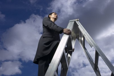 Take some basic steps to climb the corporate ladder.