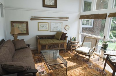 A sunroom may add comfort and value to your home.