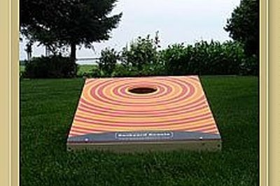 Make a Beanbag Toss Board