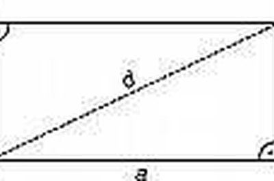 how to find the formula of a rectangle
