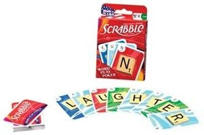 Scrabble Word Play card game.