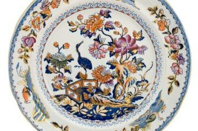 19th century Staffordshire plate