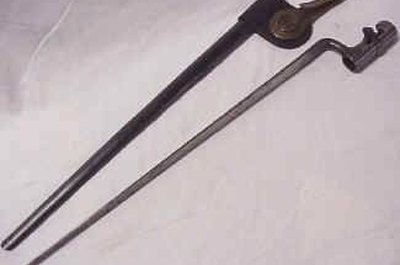 An example, a Civil War-era bayonet