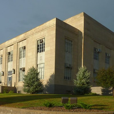 Harrison County Courthouse In Bethany Missouri