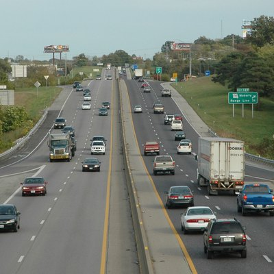 Vehicles Ply I 70, The Oldest Interstate In Missouri. According To David  Ahlvers, State Construction And Materials Engineer With The Missouri  Department Of ...