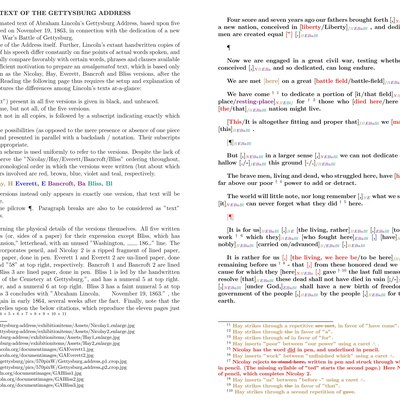 gettysburg address analysis The gettysburg address  while i cannot write a book here and provide the detailed analysis that men like wills and boritt already have,.