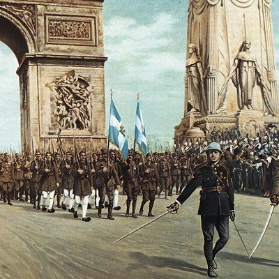 Renewing a greek passport in mississippi usa today painting depicting greek military units in the wwi victory parade in arc de triomphe paris 14 july 1919 ccuart Choice Image