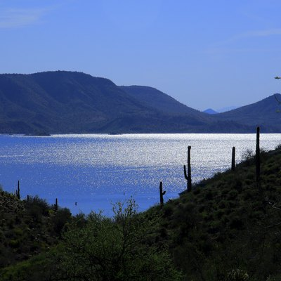 Fishing conditions in lake pleasant arizona usa today for Fishing lakes in arizona