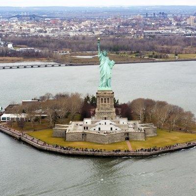 Liberty Island photo D Ramey Logan