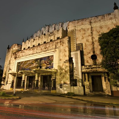 manila metropolitan theater After our manila post office building tour, we went straight to the old metropolitan  theater in manila – one of the most beautiful art deco.