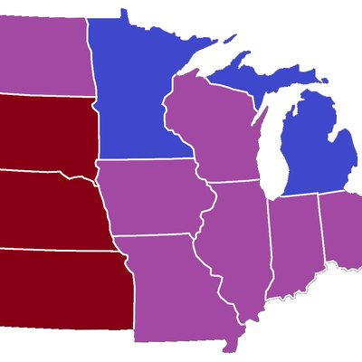Images Related To Midwestern United States Party Affiliation