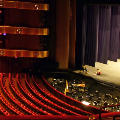New York State Theater Now The David H Koch At Lincoln Center Shown Pre Renovation And Re Naming