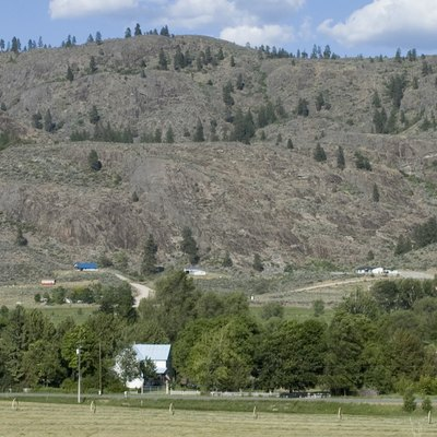 A Photograph Of Farmhouse Outside Riverside Wa This Is Along The Okanogan River And Was Taken From Us 97 Out Sight Lies Between