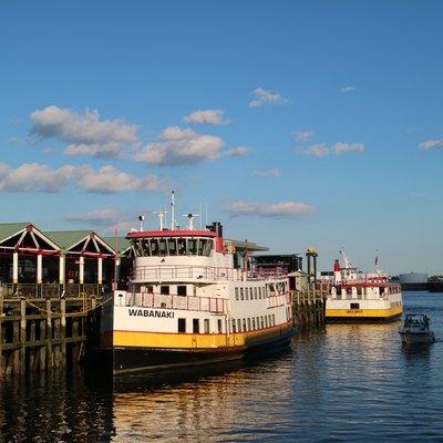 Munil Ferries On The Portland Waterfront