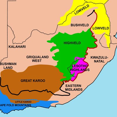 Travel Tips For South Africa USA Today - Regions of africa