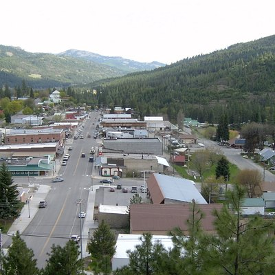 Looking South From Klon Mountain Down Clark Ave