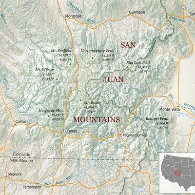 Mountain Camping In Colorado Usa Today