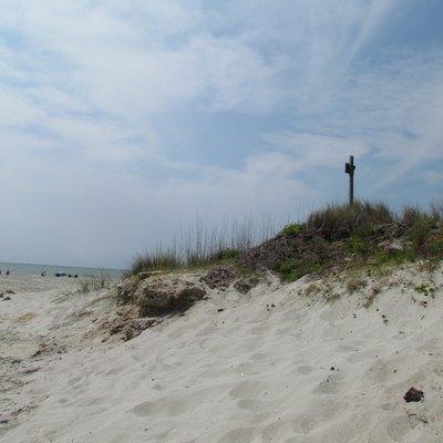Sand Dunes In Myrtle Beach