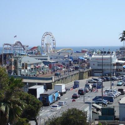 California Beaches With A Pier Amp A Ferris Wheel Usa Today