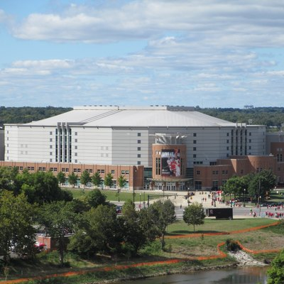 View Of The Jerome Shottenstein Center On Campus Ohio State University In Columbus Usa As Seen From Stadium