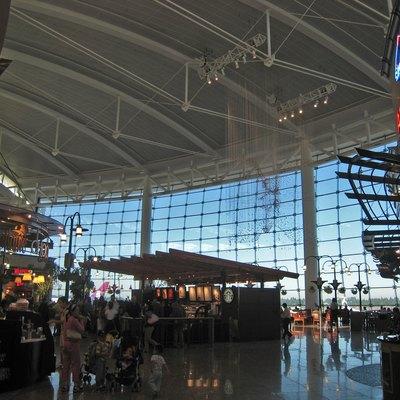 The Main Terminal At Seattle Tacoma Seatac International Airport