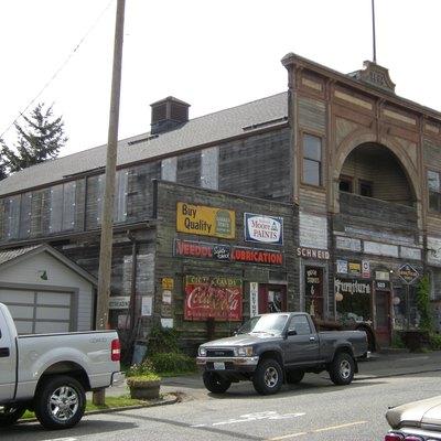 The Onetime Alcazar Opera House 609 First Street Snohomish Washington Built 1892