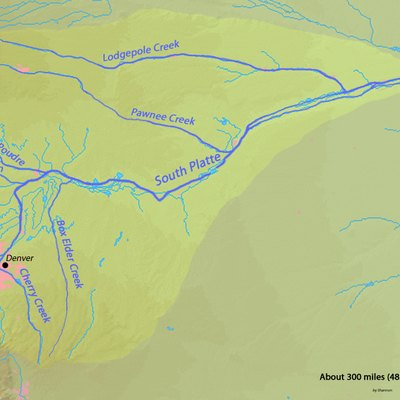 South Platte River Boating Rules In Colorado USA Today - Southern us map labeled rivers