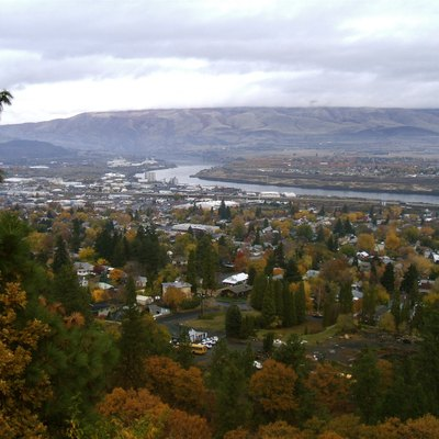 Columbia River And The Dalles Oregon Usa