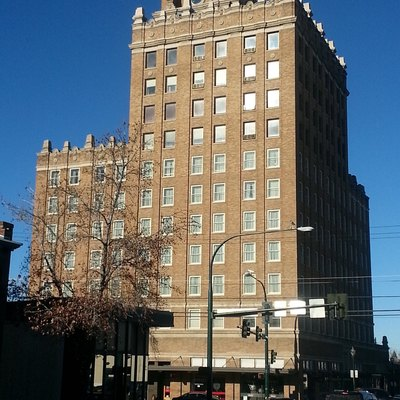 Picture Of The Whitman Hotel In Downtown Walla Wa