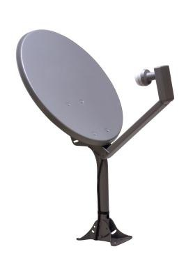 If you know the manufacturer of the satellite box attached to the dish, you can find the code.