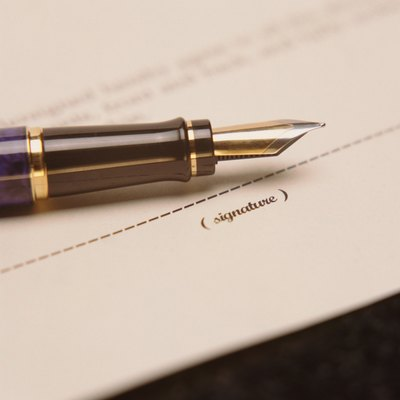 Executing a mortgage is legalese for signing it.