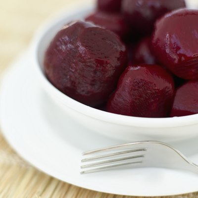 Beet root is rich in heart-healthy folate.