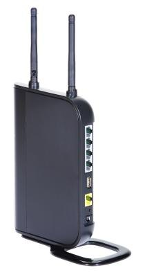 Your wireless router may have an antenna for broadcasting a stronger signal.