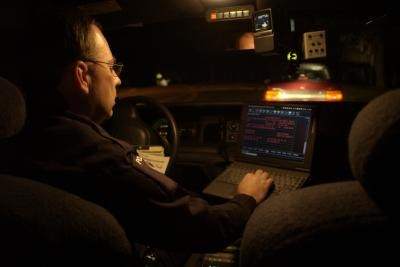Notebook computers can be very useful to the police.