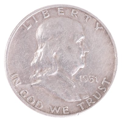 Before 1964, dimes, quarters and half-dollars contained 90 percent silver.