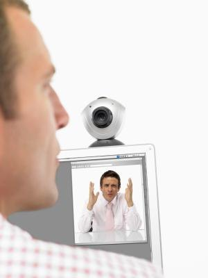 The Sony Vaio webcam lets you make video calls for work.