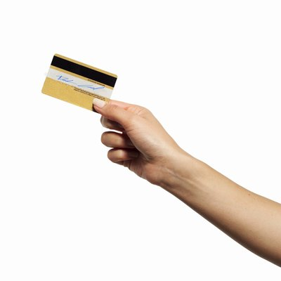The magnetic stripe on your credit card provides key payment data when swiped.