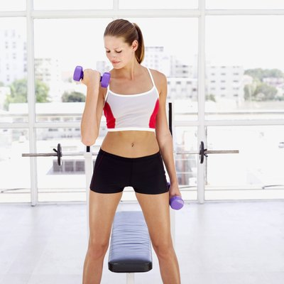 Weight training won't make you bulky, but it will help you burn fat.
