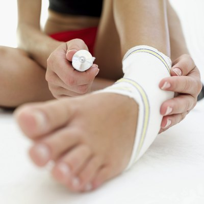Regularly stretching your ankle can prevent injuries.