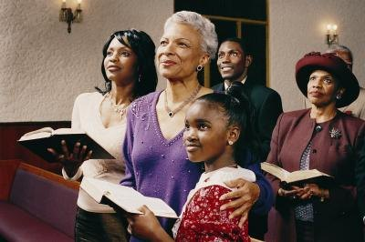Church mothers are often actual mothers and grandmothers.